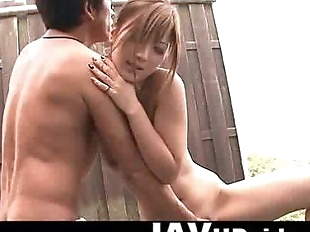 Aika hot outdoor action - 5 min