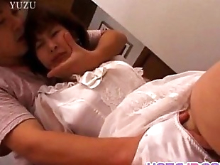 Reina in wedding dress gets vibrator and cock -..