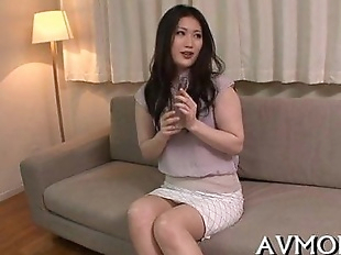 Mother id like to fuck asian gets fingered and..