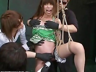 Japanese Bondage Sex - Extreme BDSM Punishment..