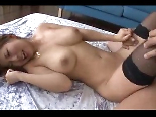 Threesome sex adventure along busty Konatsu..