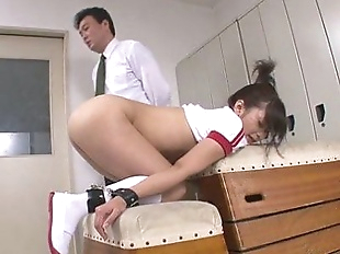 One nasty condition for Aika Hoshino to stay in..