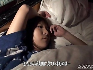 Japanese couple - Kimono Girl Fuck in Sleep - 12..