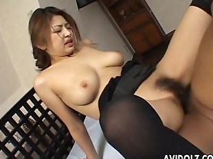 Busty Japanese babe wants it hard - 11 min
