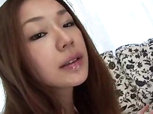 Serina Hayakawa pleases wth her warm lips - 12 min