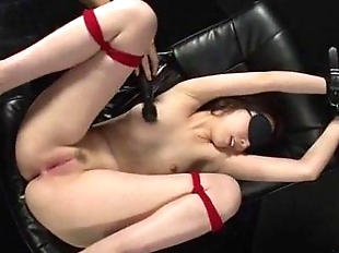 Smashing Asian toy porn in bondage scenes with..