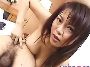 Rei Himekawa deals huge dick in sexy POV style -..