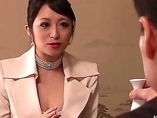 Japanese Business babe gets fucked 7 min HD
