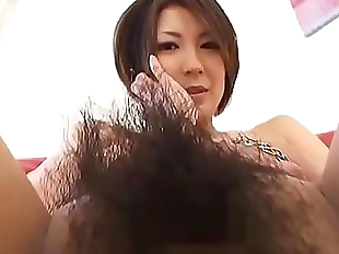 Subtitled Japanese amateur perfect bush naked..