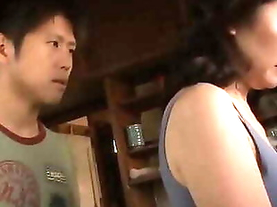 Asian MILF Cant Resist Her Stepson 10 min 720p