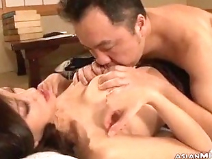 Busty Milf Getting Her Nipple Sucked Getting Her..