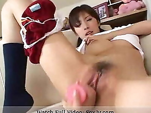 Super Sexy Asian Amateur Dildo Fuck 5 min