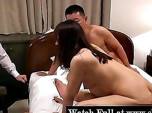 Husband Let Business Partner Fuck His Japanese..