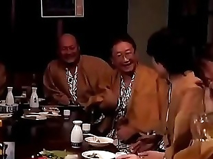Japanese woman gets forced while her husband..