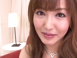 Mami Asakura feels toys over her moist pussy -..