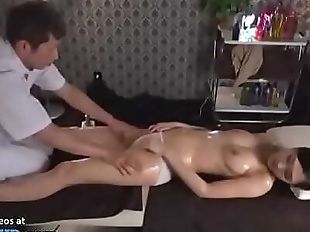 Japanese massage sex with beautiful babe 19 min