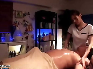 Japanese massage sex with hottest masseuse 21 min