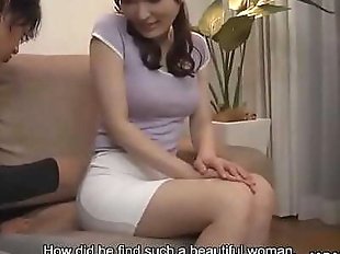 Japanese housewife, Noeru Mitsushima was being a..
